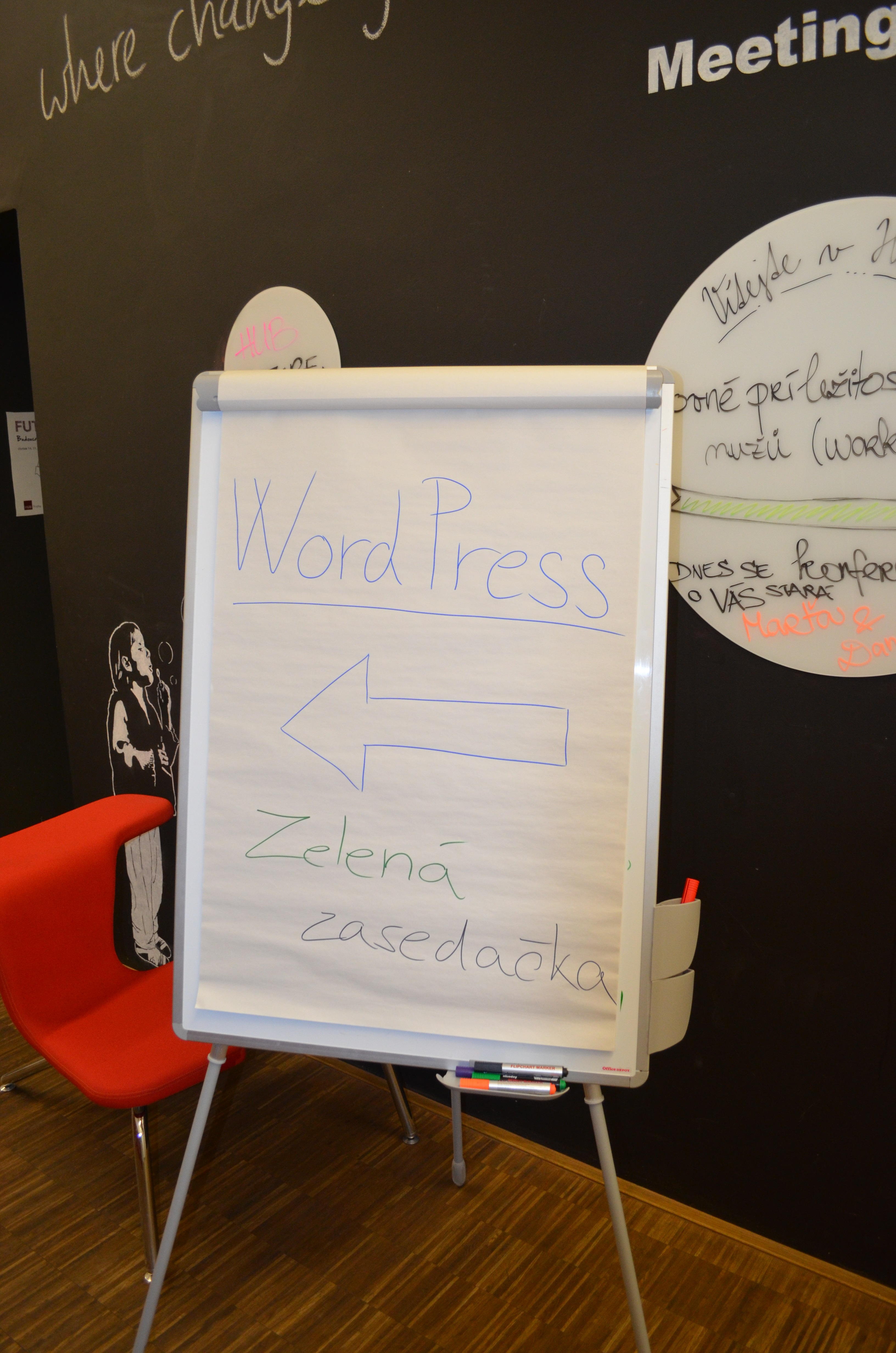 WordPress Meetup v HUB Praha